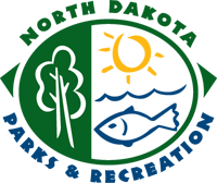 North Dakota Parks and Rec Logo